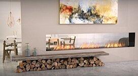 Flex 122DB Fireplace Insert - In-Situ Image by EcoSmart Fire