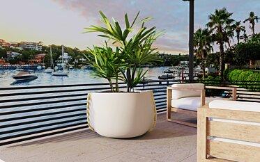 Stitch Plant Pot - Outdoor Spaces