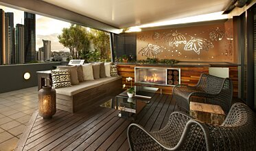 Private Balcony - Outdoor Spaces
