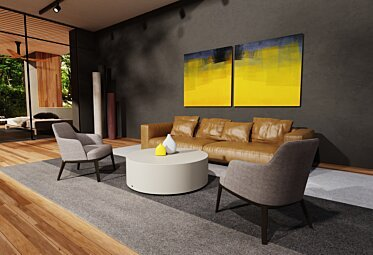 Indoor Living area - Residential Spaces