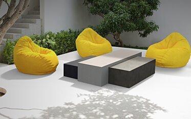 Bloc L1 Coffee Table - In-Situ Image by Blinde Design
