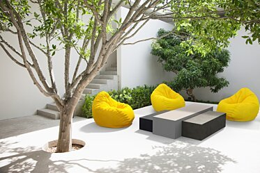 Outdoor setting - Residential Spaces