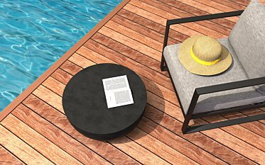 Circ L2 Coffee Table - In-Situ Image by Blinde Design