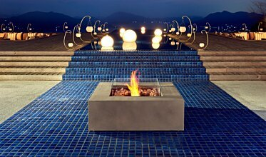 Base 40 EcoSmart Fire - In-Situ Image by EcoSmart Fire