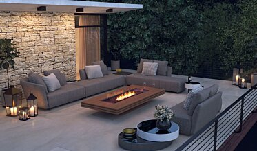 Outdoor entertaining space - Residential Spaces