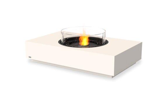 Martini 50 Range - Ethanol - Black / Bone / Optional Fire Screen by EcoSmart Fire