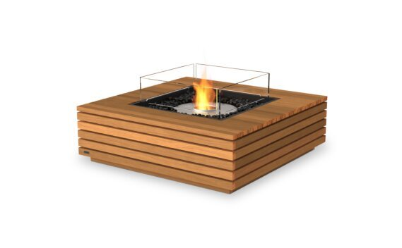 Base 40 Range - Ethanol / Teak / Optional Fire Screen by EcoSmart Fire