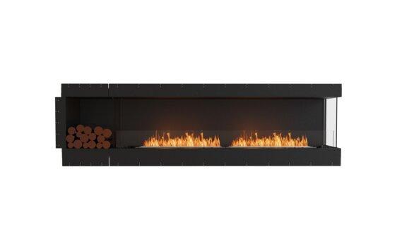 Flex 104RC.BXL Right Corner - Ethanol / Black / Uninstalled View by EcoSmart Fire