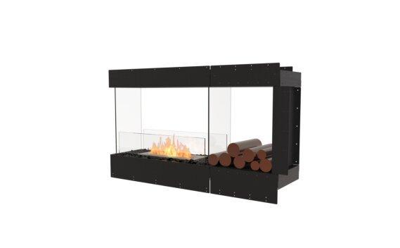 Flex 50PN.BXR Peninsula - Ethanol / Black / Uninstalled View by EcoSmart Fire