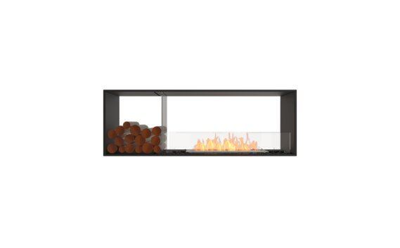 Flex 60DB.BX1 Double Sided - Ethanol / Black / Installed View by EcoSmart Fire