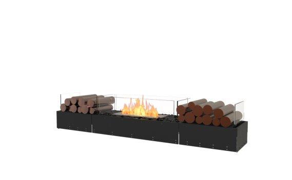 Flex 68BN.BX2 Bench - Ethanol / Black / Uninstalled View by EcoSmart Fire