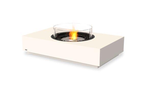 Martini 50 Range - Ethanol / Bone / Optional Fire Screen by EcoSmart Fire