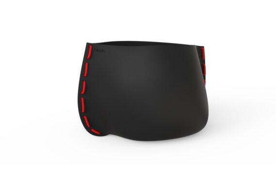 Stitch 100 Range - Graphite / Red by Blinde Design