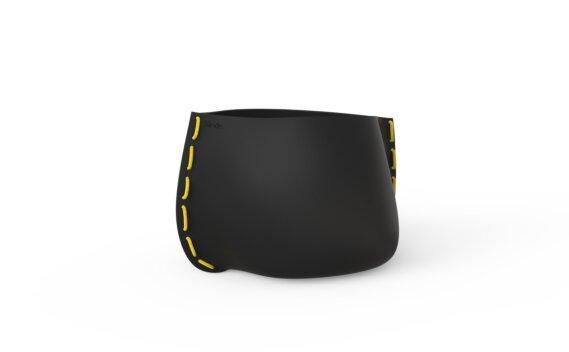 Stitch 50 Range - Graphite / Yellow by Blinde Design