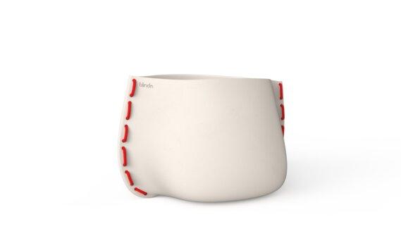 Stitch 75 Range - Bone / Red by Blinde Design