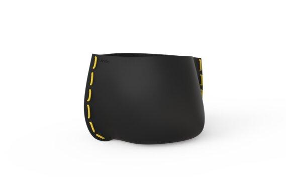 Stitch 75 Range - Graphite / Yellow by Blinde Design
