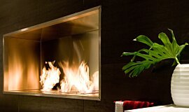 Fuori Salone 2010 EcoSmart Fire Fireplace Insert Idea