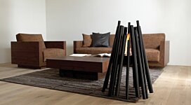 Stix All Black  - In-Situ Image by EcoSmart Fire