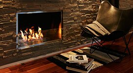 Firebox 1000SS v2 Fireplace Inserts Outlet - In-Situ Image by EcoSmart Fire