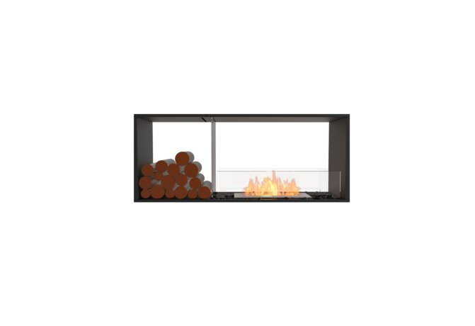Flex 50DB.BX1 Double Sided - Ethanol / Black / Installed View by EcoSmart Fire