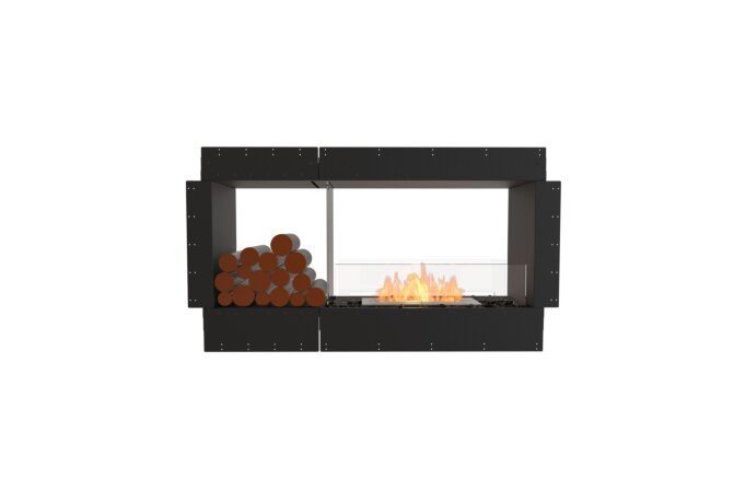Flex 50DB.BX1 Double Sided - Ethanol / Black / Uninstalled View by EcoSmart Fire