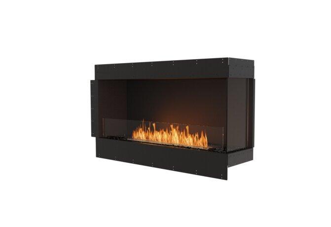 Flex 50RC Right Corner - Ethanol / Black / Uninstalled View by EcoSmart Fire