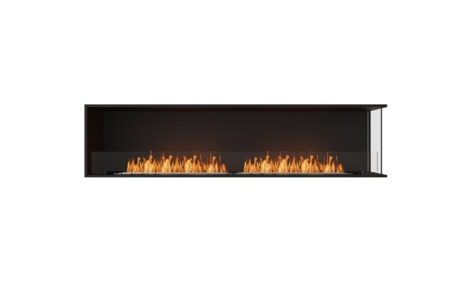 Right Corner Fireplace Insert by MAD Design Group
