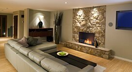Flex 32SS Fireplace Insert - In-Situ Image by EcoSmart Fire