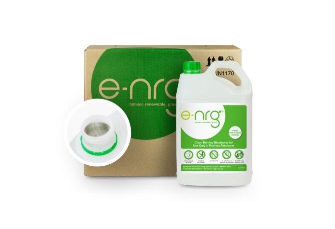 e-NRG Bioethanol Bioethanol Fuel - Studio Image by MAD Design Group