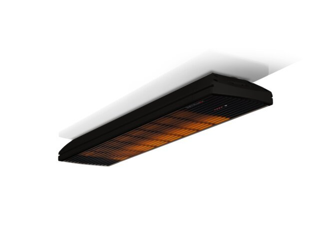 Spot 2800W Radiant Heater - Black / Black - Flame On by Heatscope