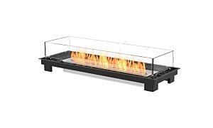 Linear 50 Fireplace Insert - Studio Image by EcoSmart Fire