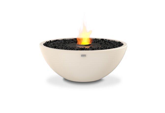 Mix 850 Fire Pit - Ethanol - Black / Bone by EcoSmart Fire