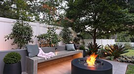 Ark 40 Fire Pit - In-Situ Image by MAD Design Group