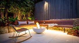 Mix 850 Fire Pit - In-Situ Image by MAD Design Group