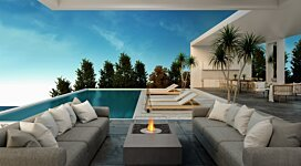 Manhattan Fire Pit - In-Situ Image by MAD Design Group