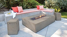 Flo Fire Pit - In-Situ Image by MAD Design Group