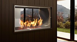 Firebox 1000DB v2 EcoSmart Fire Outlet - In-Situ Image by MAD Design Group