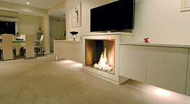 Firebox 900SS v2 EcoSmart Fire Outlet - In-Situ Image by MAD Design Group