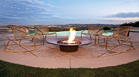 Ayre v1 Fire Pit - In-Situ Image by EcoSmart Fire
