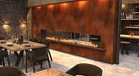 Flex 86DB Fireplace Insert - In-Situ Image by EcoSmart Fire