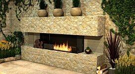 Flex 86BY Fireplace Insert - In-Situ Image by EcoSmart Fire
