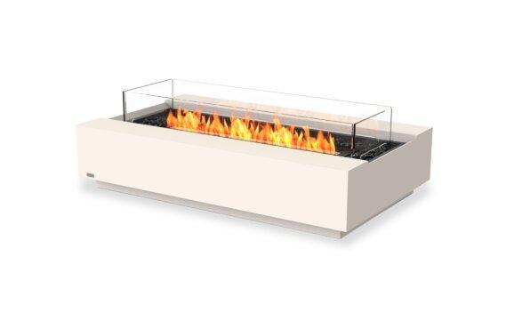 Cosmo 50 Range - Ethanol - Black / Bone / Optional Fire Screen by EcoSmart Fire