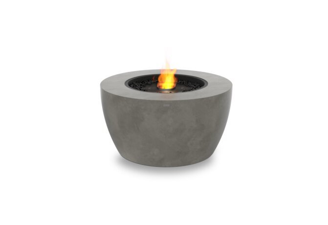 Pod 40 Fire Pit - Ethanol - Black / Natural by EcoSmart Fire